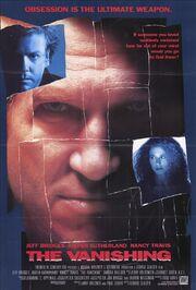 1993 - The Vanishing Movie Poster