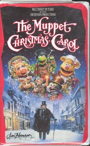 The Muppet Christmas Carol 1993 VHS