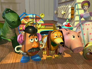 Toy Story Gangs