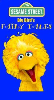Big Bird's Fairy Tales 1996 Original VHS Cover