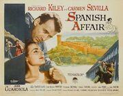 1957 - Spanish Affair Movie Poster