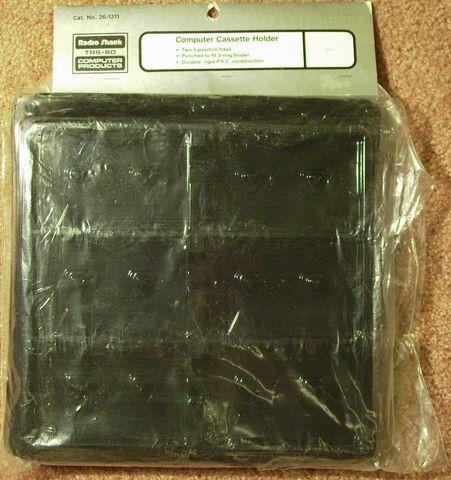 File:26-1311 Computer Cassette Holder (silver label).JPG