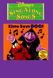 Elmo Says BOO! Cover