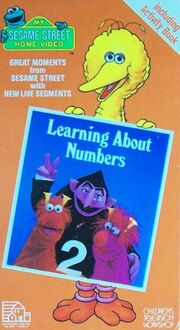 Learning About Numbers 1985 VHS