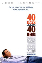 2002 - 40 Days and 40 Nights Movie Poster