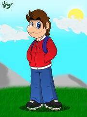 Teen Mario by mariotime92