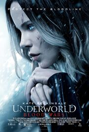 2017 - Underworld - Blood Wars Movie Poster
