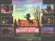 1982 - The Man from Snowy River Movie Poster