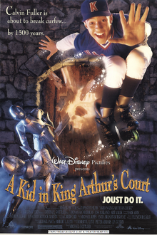 A Kid In King Arthur Court (1995) Poster