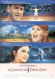 1992 - A League of Their Own Movie Poster 3