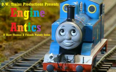 Engine Antics title card