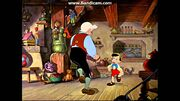 Pinocchio and Geppetto