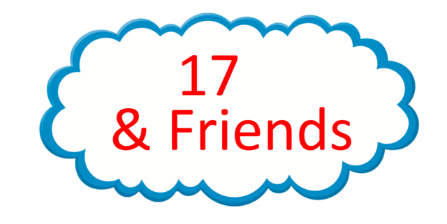 File:17 and Friends Logo.png