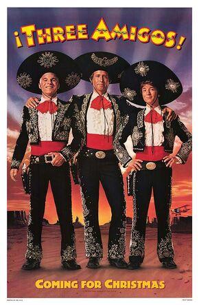 1986 - Three Amigos