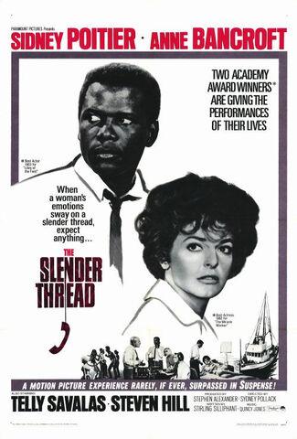 File:1965 - The Slender Thread Movie Poster.jpg