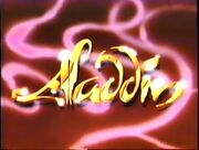 Aladdin Early Concept Title
