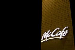 McCafé at night