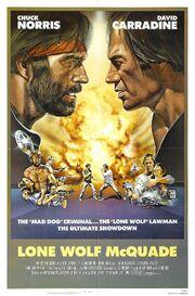 1983 - Lone Wolf McQuade Movie Poster