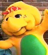 BJ is Voiced by Patty Wirtz from Barney & Friends