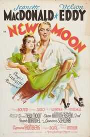 1940 - New Moon Movie Poster
