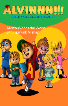 Alvin's Wonderful World of Chipmunk Mishap DVD