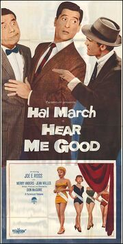 1957 - Hear Me Good Movie Poster