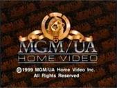 MGM UA Home Video Copyright Screen (1999 Variant)