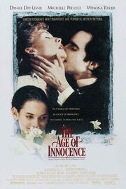 1993 - The Age of Innocence Movie Poster
