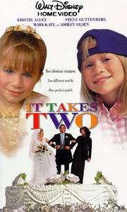 It Takes Two Disney VHS