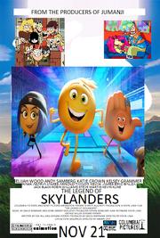 The Legend Of Skylanders 1997 Poster