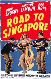 1940 - Road to Singapore Movie Poster