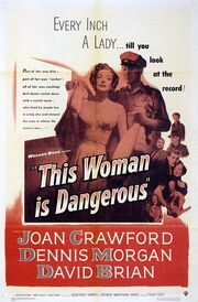 1952 - This Woman is Dangerous Movie Poster
