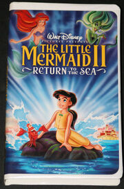 The little mermaid ii return to the sea on vhs