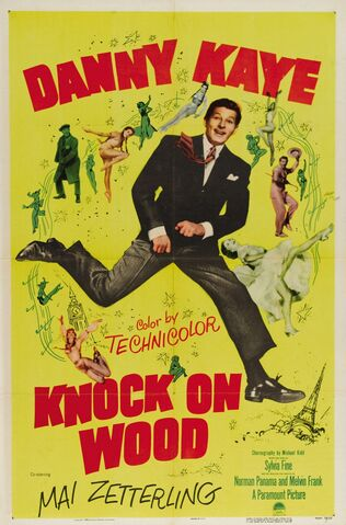 File:1954 - Knock on Wood Movie Poster.jpg