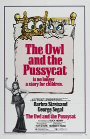 1970 - The Owl and the Pussycat Movie Poster -1