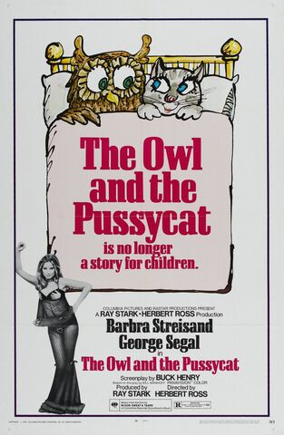 File:1970 - The Owl and the Pussycat Movie Poster -1.jpg