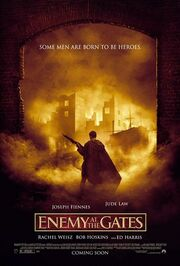 2001 - Enemy at the Gates Movie Poster