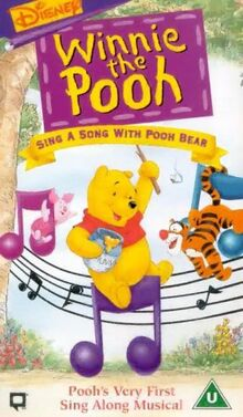 Sing a song with pooh bear uk vhs