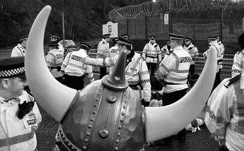 Vikings at faslane Helmet