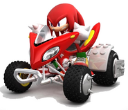 Knuckles-Sonic&SegaAllStarsRacing