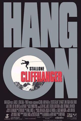 File:1993 - Cliffhanger Movie Poster.jpg