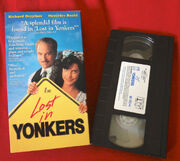Lost in yonkers vhs