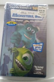 Monsters inc. vhs