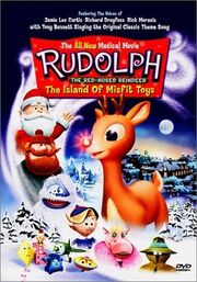 Rudolph and the island of misfit toys dvd