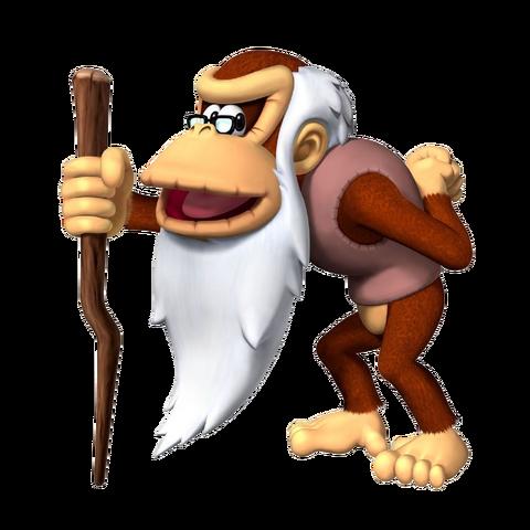 File:Cranky Kong, DK Jungle Climber.png