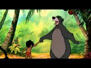 Mowgli and Baloo from Theres Only One Disney Promo