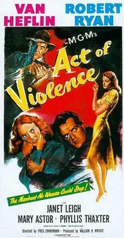1948 - Act of Violence Movie Poster