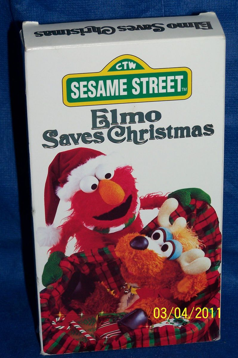 Opening To Elmo Saves Christmas 1996 VHS (Buena Vista Home Video ...