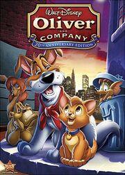 OliverAndCompany 25thAnniversary DVD