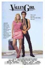 1983 - Valley Girl Movie Poster